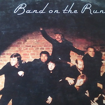 "Wings ""Band on The Run"" - Records"