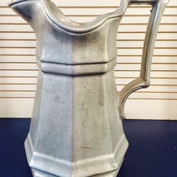 Pewter(?) Pitcher, Colonial(?) Form, No Marks - Kitchen