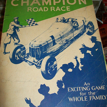 Champion spark plug board game - Games