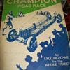 Champion spark plug board game