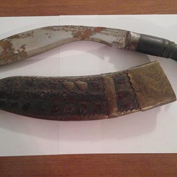 Gurkha/kukri knife