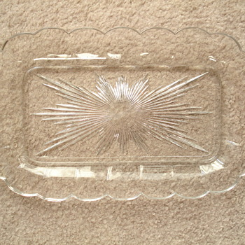 Bread plate? - Glassware