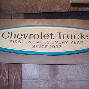 Chevrolet sign.