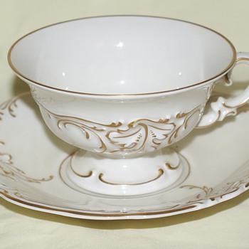 Cup and Saucer - KPM - China and Dinnerware