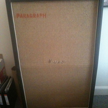 1968 Basketweave Marshall 8x10 cab, model 1990.