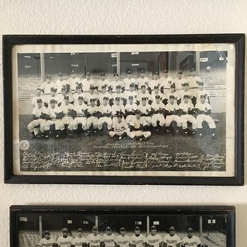 1949 World Champions New York Yankees Team Photo  - Baseball