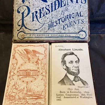 Copyright 1894: The Game of Presidents and Historical Events