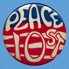 "Important 1968 Greenwich Village ""PEACE 10 ST."" Anti-Vietnam War Pinback"