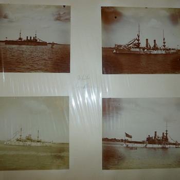1898 White Squadron Photos - Military and Wartime