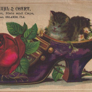 TRADE CARDS - Advertising