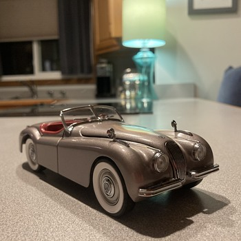 Danbury Mint 1949 Jaguar xk - 120 UPDATE  - Model Cars