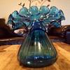 Big heeeaavy glass vase
