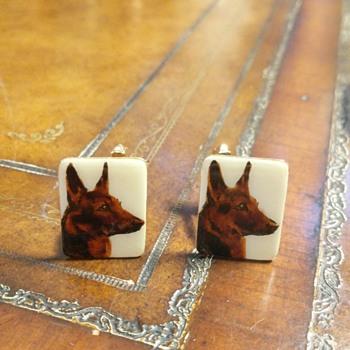 Dog cufflinks? - Fine Jewelry