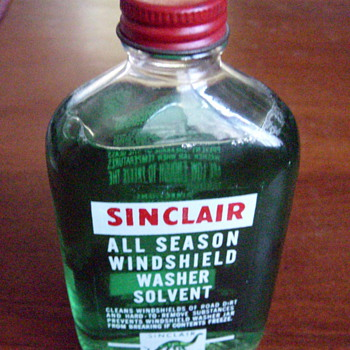 Full Sinclair Washer Fluid Bottle - Petroliana
