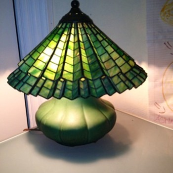 Hampshire leaded slag glass - Lamps