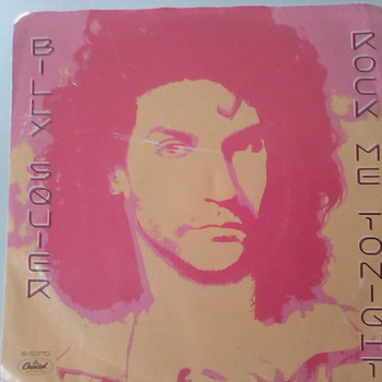 "Billy Squier "" Rock Me Tonight "" For Our Music Man Thomas - Records"