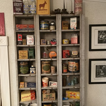 Tins, kitchen can, smalls - Advertising