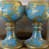 Mid 19th Century Rare GLASS  RUMMERS/ROEMER/GOBLETS