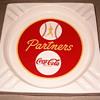 Coca Cola Baseball ashtray