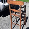 Old Wood Child's Chair I Beleive ???  Unknown Age ? MFG.?? Style.
