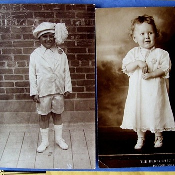 BEAUTIFUL KIDS, BLACK & WHITE, 1906 and c.1910  LOVE THESE!!  - Photographs