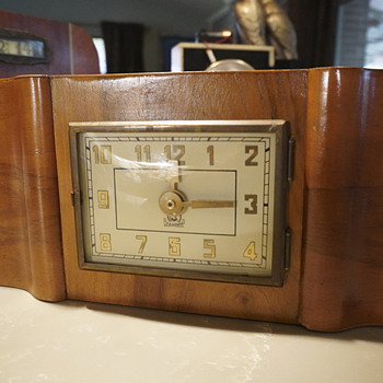 1935 - 40 BNAANMHP Russian Mantel Clock - Clocks