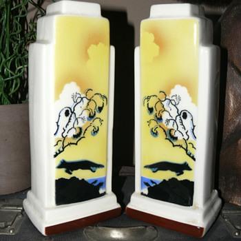 bihl czech vases - Pottery