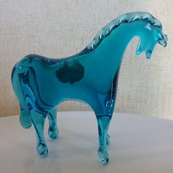 Kanawha Glass horse  - Animals