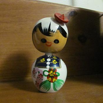 Kokeshi hand painted - Dolls