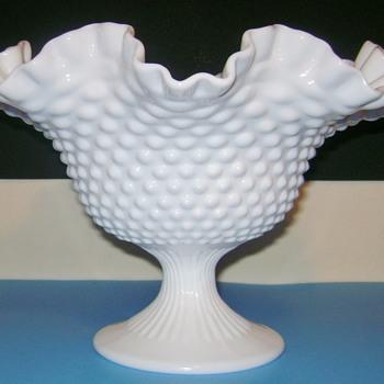 Fenton Milk Glass - Glassware