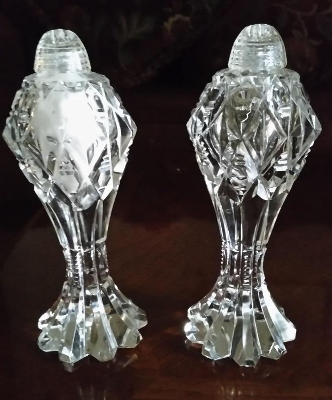 Vintage Crystal Salt And Pepper Shakers Collectors Weekly