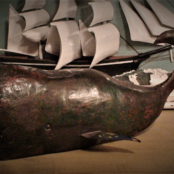 Primitive-Inspired Reclaimed Steel Drum Whale