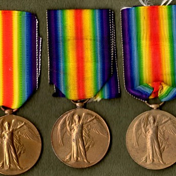 West Indies, Gurkha & South Africa Victory Medals - Military and Wartime