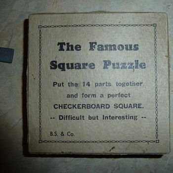 The Famous Square Puzzle - Games