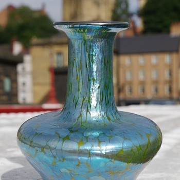 loetz minature vase ? - Art Glass