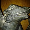 FROG CANDLESTICK OR INCENSE BURNER HOLDER