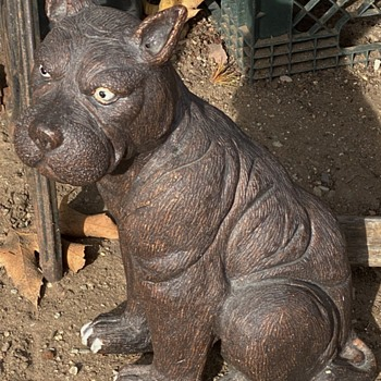 Large Pottery Dog - Animals