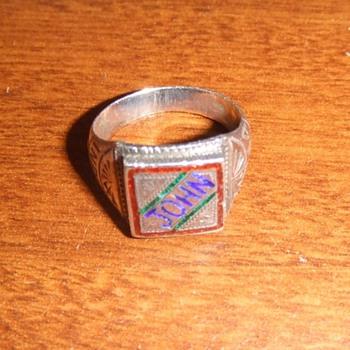 WW2 Souvenir ring from CBI theater