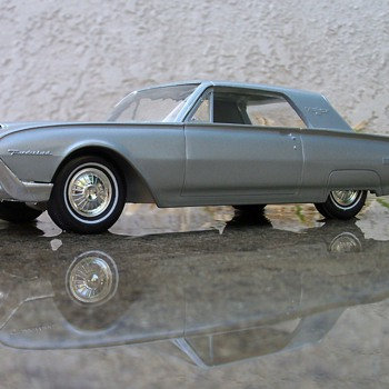1962 Thunderbird Promotional model - Model Cars