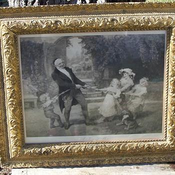 Victorian Lithograph - Victorian Era