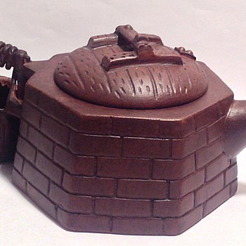Yixing teapot with seal marking and calligraphy?! Please help me to identify??! - Asian