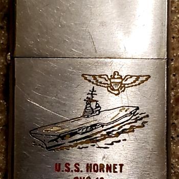 Zippo USS Hornet 1950 - Tobacciana