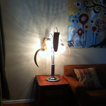 "Unique ""Acorn Tree"" Lamp? - Lamps"