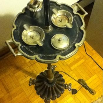Black smokers floor lamp - Lamps