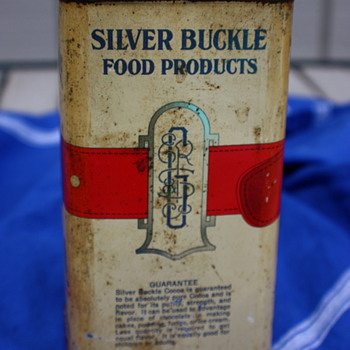 Silver Buckle Cocoa Advertising Tin Find - Advertising
