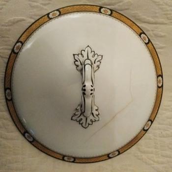 F. Winkle & Co England Covered Dish - Art Nouveau