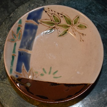 Shallow Bowl with Gilding - Pottery