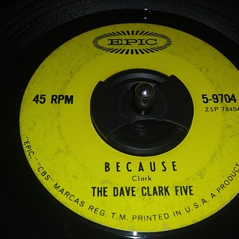 45 RPM SINGLE....#34 - Records