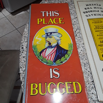 vintage metal signs - Advertising