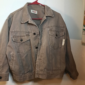 vintage coca cola jacket. 60s? help! - Mens Clothing